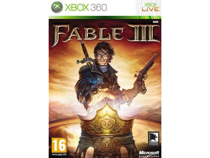 X360 Fable 3 CZ