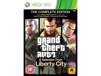 X360 Grand theft Auto 4 The Complete Edition