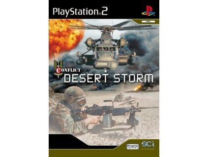 PS2 Conflict Desert Storm
