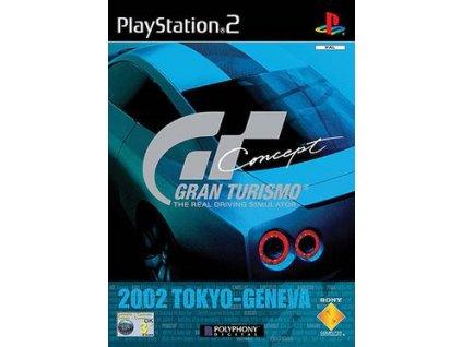 PS2 Gran Turismo Concept 2002 Tokyo Geneva