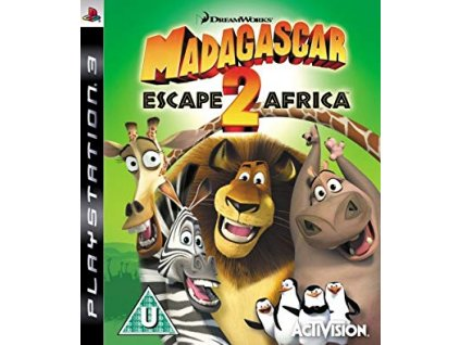 PS3 Madagascar Escape 2 Africa