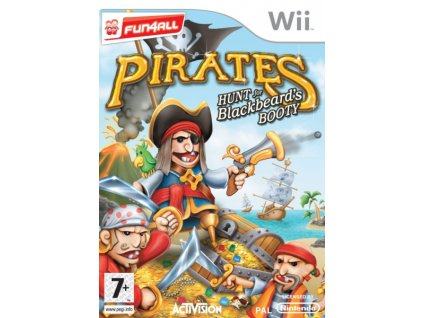 nintendo wii pirates hunt for blackbeards booty