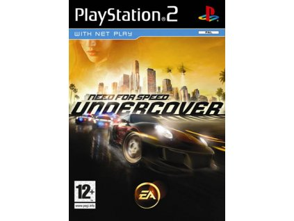 PS2 Need for Speed Undercover CZ