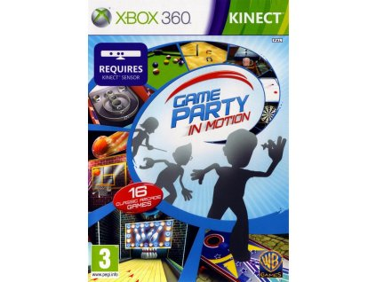 Game Party In Motion KINECT @