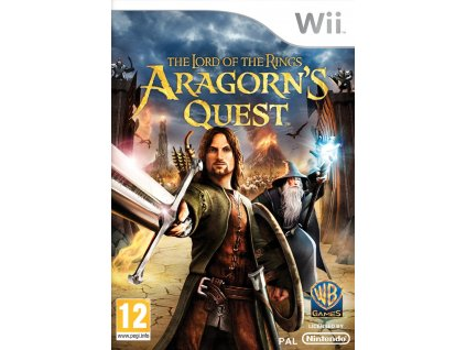 Wii The Lord of the Rings Aragorns Quest