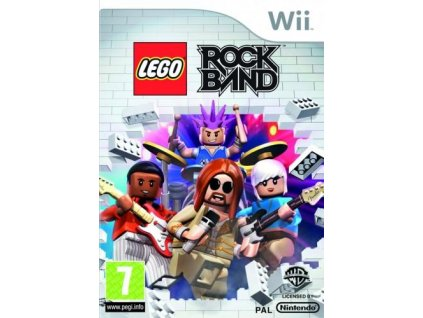 Wii LEGO Rock Band