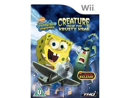 Wii SpongeBob SquarePants Creature from the Krusty Krab