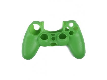 hde ps4 controller skin silicone rubber protective grip for sony playstation 4 wireless dualshock game controllers green