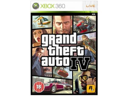 X360 Grand theft Auto IV (GTA 4)