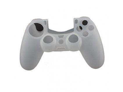 PS4 silikonový obal na ovladač šedý