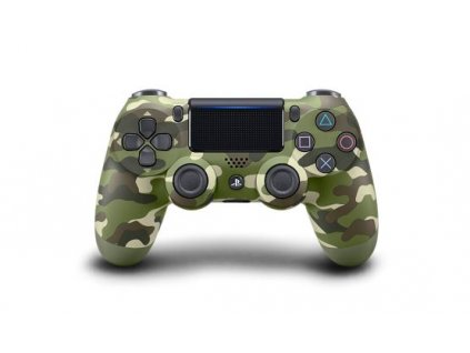 PS4 Sony DualShock 4 Green Cammo V2