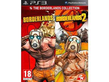 PS3 Borderlands + Borderlands 2 Collection
