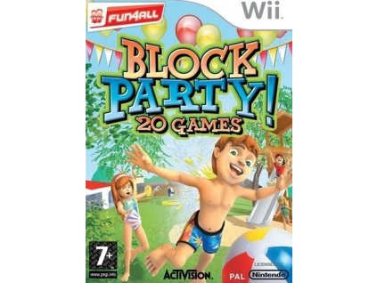 Wii Block Party! 20 Games