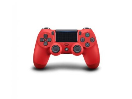 sony dualshock 4 magma red v2 ps4