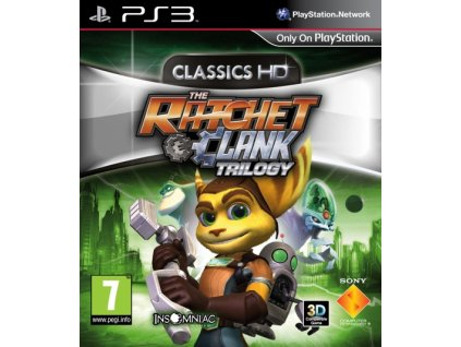 PS3 Ratchet and Clank HD Trilogy