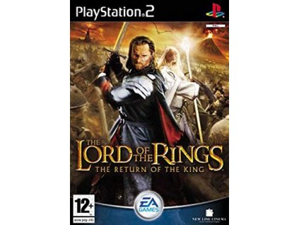 PS2 The Lord of The Rings The Return of the King