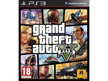 PS3 Grand Theft Auto V (GTA 5) N