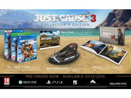 just cause 3 collector s edition xone