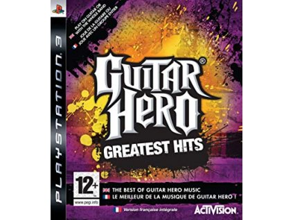 PS3 Guitar Hero Greatest Hits