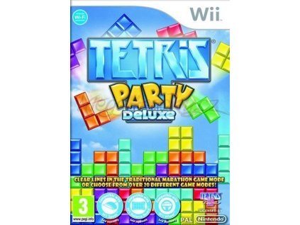 nintendo wii tetris party deluxe