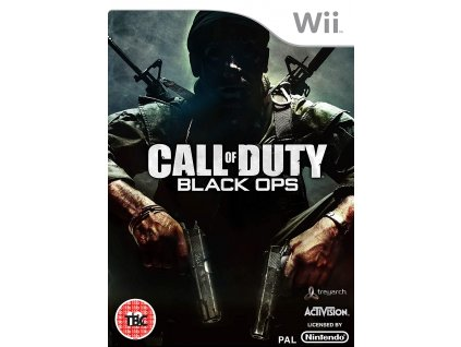 Wii Call of Duty Black Ops