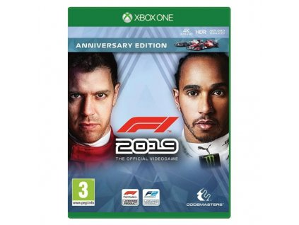 f1 2019 the official videogame anniversary edition xbox one 397074