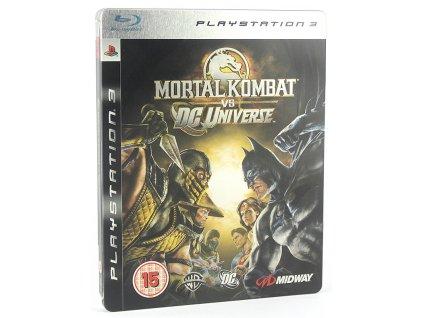 PS3 Mortal Kombat vs DC Universe Steelbook