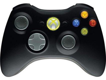 X360 Wireless Controller Black Originál Microsoft