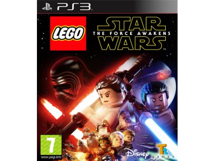 PS3 LEGO Star Wars The Force Awakens Nové