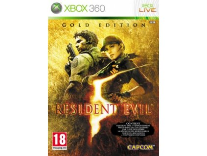 jaquette resident evil 5 gold edition xbox 360 cover avant g