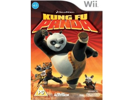 nintendo wii kung fu panda