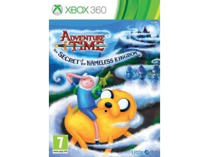 X360 Adventure Time The Secret of the Namele Kingdom