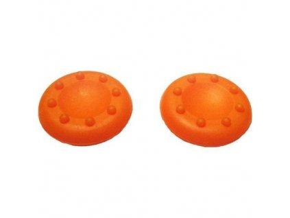 PS4/PS3/X360 kloboučky oranžové 2ks