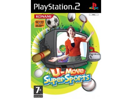 PS2 U Move Super Sports