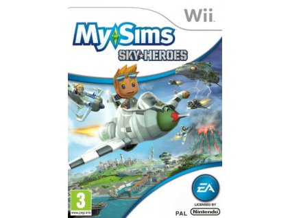 Wii MySims Sky Heroes