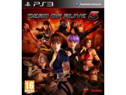 PS3 Dead or Alive 5 Nové