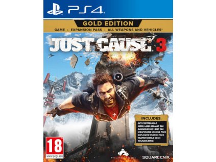 PS4 Just Cause 3 Gold Edition Nové