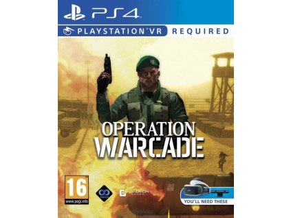PS4 Operation Warcade