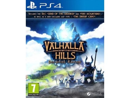 PS4 Valhalla Hills Definitive Edition Nové