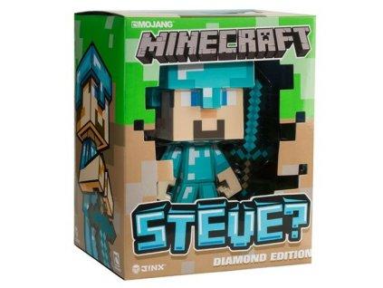 Figurka Minecraft Vinyl Diamond Steve Nové