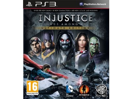 injustice gods among ultimate collect ps3