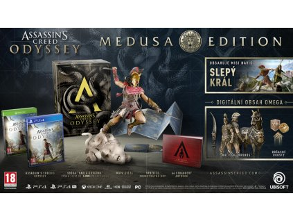 PS4 Assassins Creed Odyssey Medusa Edition CZ Nové