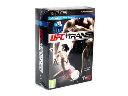 PS3 UFC Personal Trainer + Leg Strap