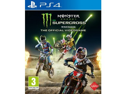 PS4 Monster Energy Supercross The Official Video Game