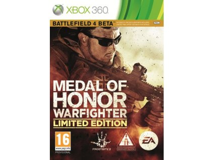 X360 Medal of Honor Warfighter Limited Edition Nové