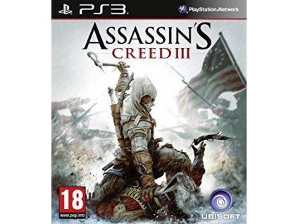 PS3 Assassins Creed 3 CZ