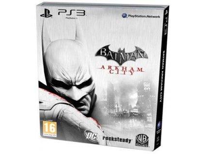PS3 Batman Arkham City Stelbook