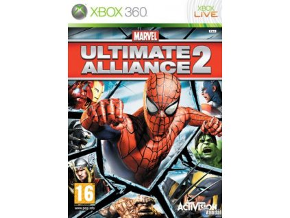 X360 Marvel Ultimate Alliance 2