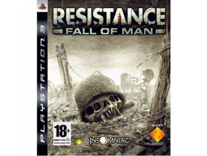 resistance fall of man ps3 pouzite