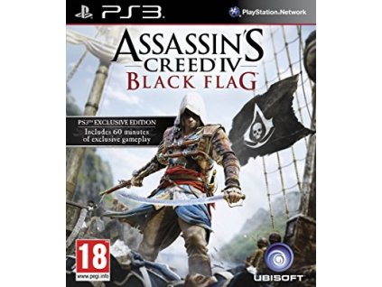 PS3 Assassins Creed 4 Black Flag
